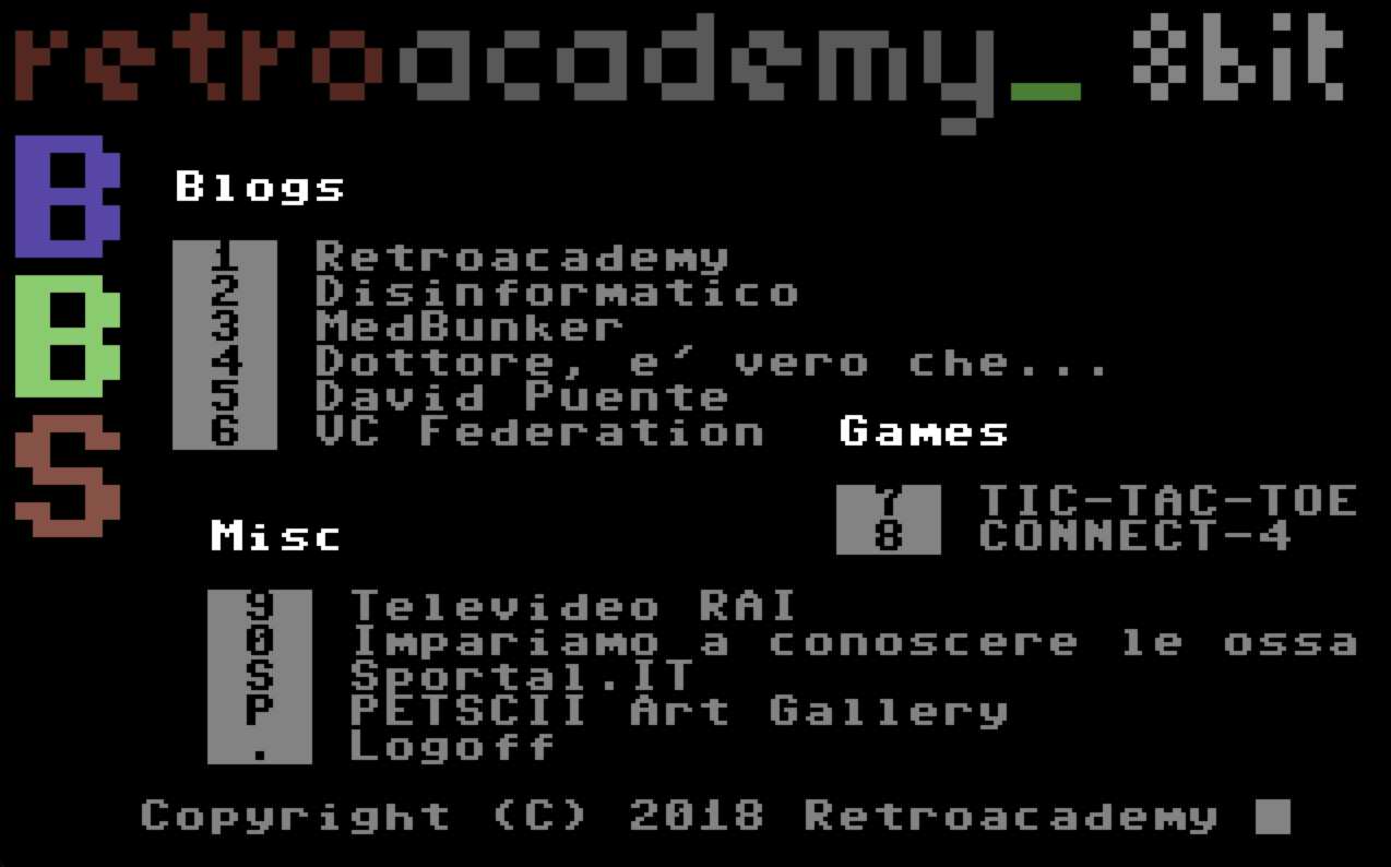 Commodore BBS Outpost